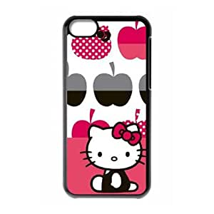 Hello Kitty Big Apples iPhone 5c Cell Phone Case Black phone component AU_611714