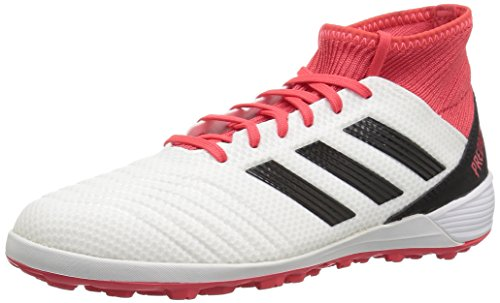 adidas Performance unisex-Mens Ace Tango 18.3 TF, White/Core Black/Real Coral, 8 M US ()