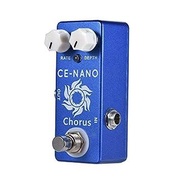 CE-NANO Pedal de guitarra eléctrica con efecto coro, carcasa ...