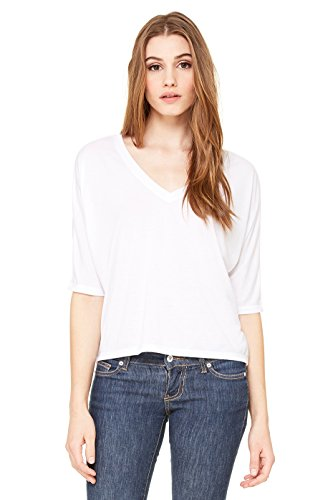 Bella -camiseta Mujer blanco