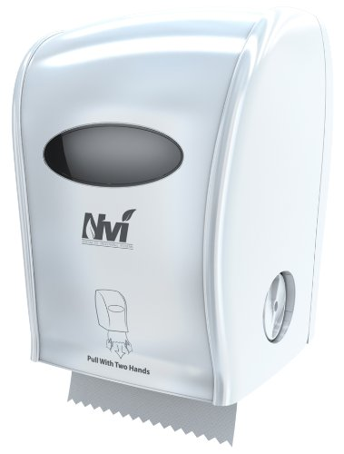 Solaris Paper D68005 Nvi Manual Hands Free Towel Dispenser, White
