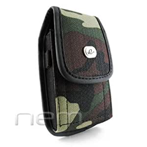 WHOLESALE 25 Pieces Camouflage Design Vertical Heavy Duty Rugged Cover Belt Clip Side Case For Samsung Galaxy Metrix SCH-I405