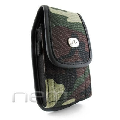 Camouflage Design Vertical Heavy Duty Rugged Cover Belt