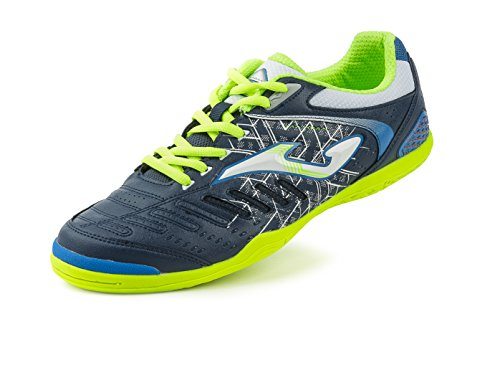 JOMA CALCETTO MAXIMA 603 NAVY-ROYAL-LEMON FLUOR TURF 41