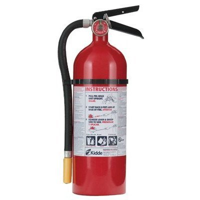 Kidde 466112-01 ABC Pro Multi-Purpose Dry Chemical Fire Extinguisher by Kidde