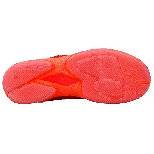 Nike, Zapatillas de Baloncesto para Niños, Rojo (Gym Red / White-Infrared 23), 37 1/2 EU