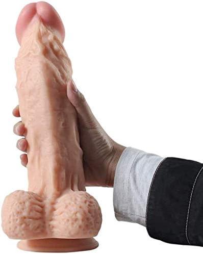 QIXI Flexibel Supe Big Dildo No Vibrator Saugnapf Dildo Realistic Huge Pferd Dildos Nein Zerhackererwachsenprodukte Spielzeug Spielzeug für Frau Sex Shop Sexspielzeug