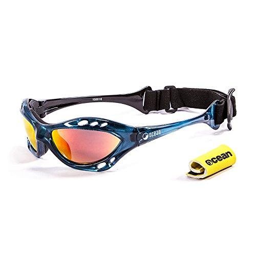 Sunglasses 15001 soleil lunettes Revo Cumbuco Monture rouge 6 polarisées de Ocean Bleu Verres gwdHIq