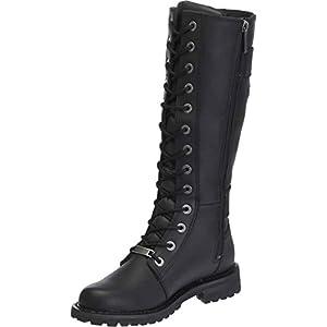 Harley-Davidson Women's Belhaven Knee-High Motorcycle Boots. D87082 (Black 8)