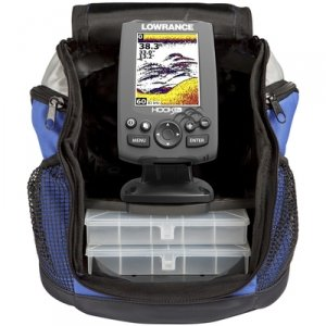 [LOWRANCE HOOK-3X ALL SEASON PACK ICE LOCATOR] (Wrist Mount Fishfinder)