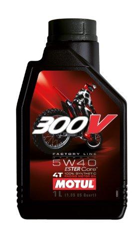 Motul 300V Offroad Synthetic Motor Oil - 5W40 - 1L. 104134