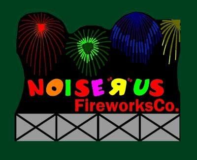 (9781 Large Model Noise R Us Fireworks Animated & Lighted Billboard by Miller)