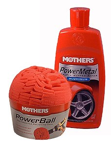 Mothers Powerball And Mothers Power Polish Combo Pack