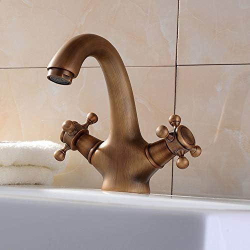 クリエイティブキッチンタップ温水と冷水流域タップ流域浴室洗面台糞便アンティーク イカンあなたが持っているに値する