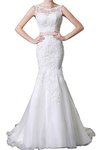 TOSKANA BRAUT -  Vestito  - Donna bianco 42