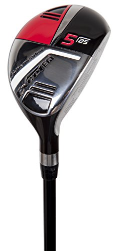 Pinemeadow Golf Men's Excel EGI Hybrid Club, Graphite, 25-Degree, 5, Regular, Right Hand