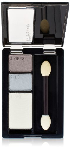 Maybelline New York Expert Wear Eyeshadow Trios, Impeccable Greys, 0.13 Ounce