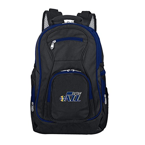 NBA Utah Jazz Colored Trim Premium Laptop Backpack (Utah Bag Jazz)