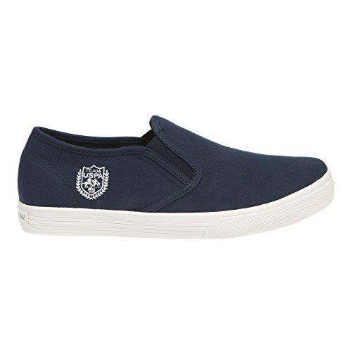 U.S. POLO Zapatos sin cordones, Estilo Sneaker - mod. GALAN4183S7-CY1 azul oscuro