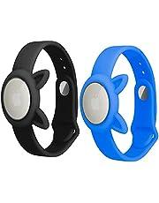 Anti-glow-in-nachtbeveiliging en anti-verlies-gps voor kinderen, anti-kras-bescherming voor de positionering van de Airtag Tracker-armband, eenvoudig te dragen