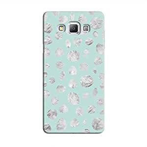 Cover It Up - Diamond Blue Pebbles Galaxy A3 Hard case