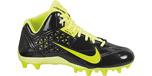 Nike Hombres Speedlax 4 Lacrosse Cleats Metálico Plata / Negro