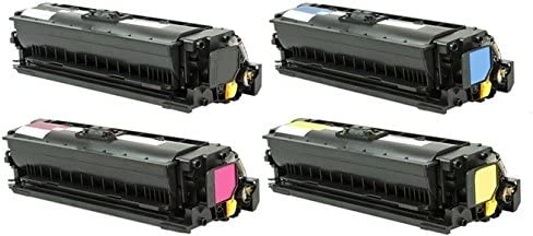 Toner Eagle Re-Manufactured High Yield 4-Color Toner Cartridge Compatible with HP Enterprise M553 M553dh M553dn M553n M553x CF360X CF362X CF363X. CF361X