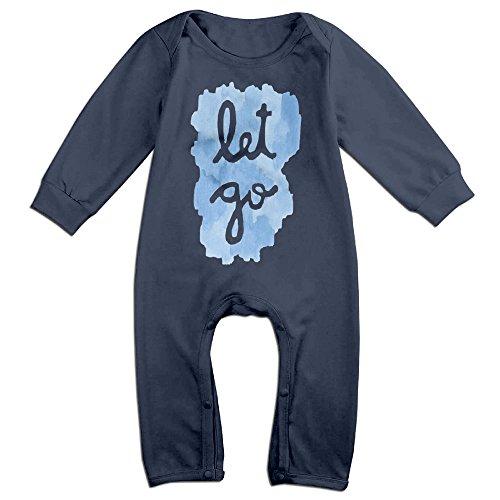 Price comparison product image PERDES Toddler / Infant Let It Go Romper Bodysuit Outfits 18 Months Navy