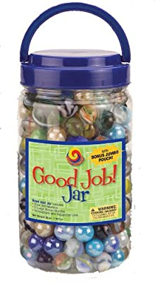Fs-usamega Marbles Good Job Jar by Mega Marbles