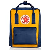 Fjallraven Kanken Mini Daypack, Navy/Warm Yellow