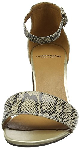 Vagabond Scarlett - Sandalias de tobillo Mujer Varios Colores - Mehrfarbig (86 Almond multi)