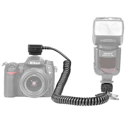 I-ttl Off Camera Flash (Neewer 9.8 feet/3 m i-TTL Off Camera Flash Speedlite Cord for Nikon D3000,D3100,D3200,D3300,D5000,D5100,D5200,D5300,D5500, D7000,D7200,D7100,D90,D600,D800,D800E,P7000,P7100 DSLR Cameras)
