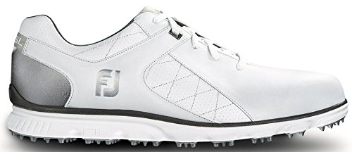 FootJoy Men's Pro/SL-Previous Season Style Golf Shoes White 13 M Silver, US