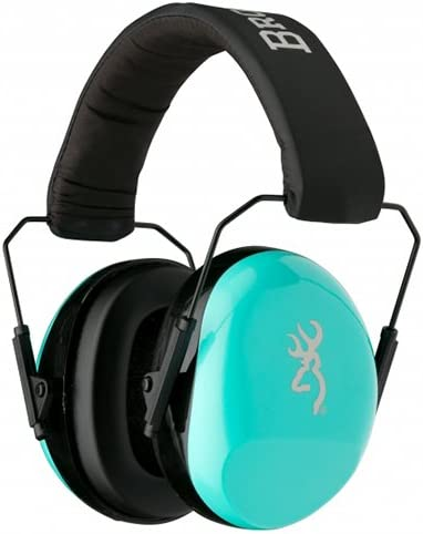 Browning, Hearing Protector, Buckmark for Her, Aqua