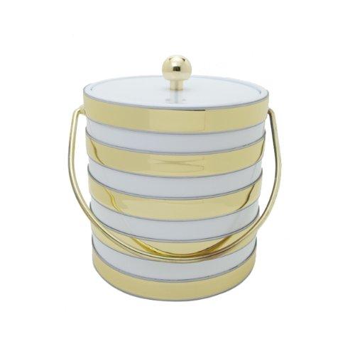 - Mr. Ice Bucket Barrel 3-Quart Ice Bucket, White