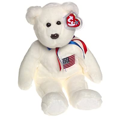 Ty Beanie Buddies Libearty - Bear: Toys & Games