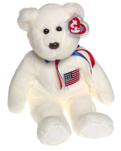 American Teddy Bear (Ty Beanie Buddies Libearty - Bear)