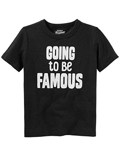 (Osh Kosh Kids Graphic Tees, Famous, 10)