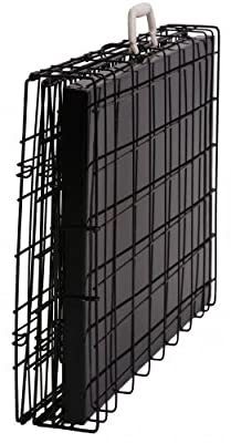 """Best Pet Black 49"""" Triple-door Suitcase Style Folding Dog Crate with Free Pan - 49""""(l) X 29""""(w) X 32""""(h)"""