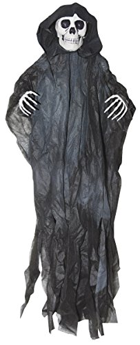 (The Gothic Collection Hanging Black Reaper Skeleton Halloween Decorations, 32)