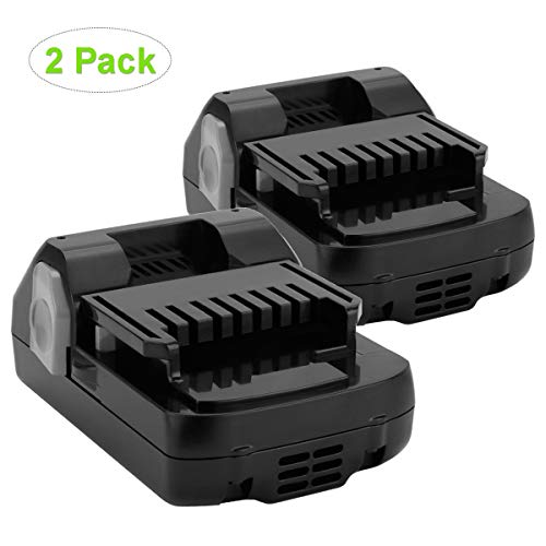 Joiry 18V 2500mAh Li-ion Replacement Battery Compatible with Hitachi 339782 BSL1830C BSL1815X BSL1815S BSL1830 330139 330557 (2 Pack)
