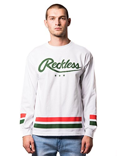 Young and Reckless - Roster Long Sleeve- White - L - Mens - Tees - Long Sleeve - WHITE ()