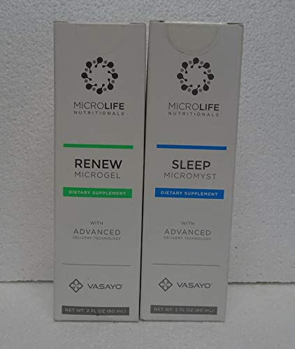 Vasayo Microlife Renew Microgel and Sleep Micromyst Dietary Supplement (Pack of Two) by Vasayo (Image #5)