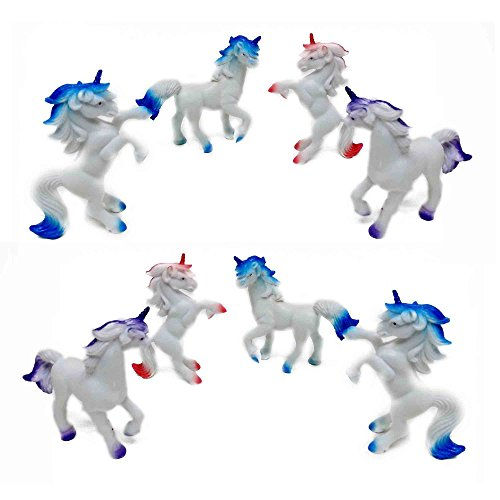 Small Unicorn (Fun Central (AZ921) 3 Inch Unicorns Animals - Assorted 12pcs)