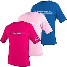 O'Neill Wetsuits UV Sun Protection Youth Basic Skins Short Sleeve Tee Sun Shirt Rash Guard