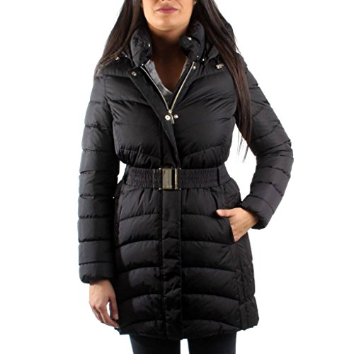 Down Women T2410 W7425F Black Geox 50 Jacket FxqgEwppz
