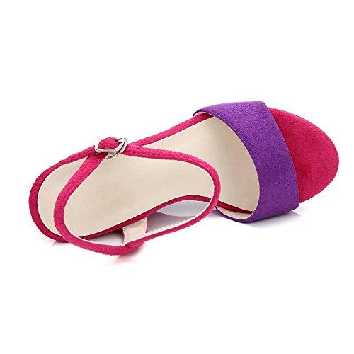 GJDE Sandalias de las Señoras Calzan los Zapatos Ocasionales del Alto talón de las del Verano d