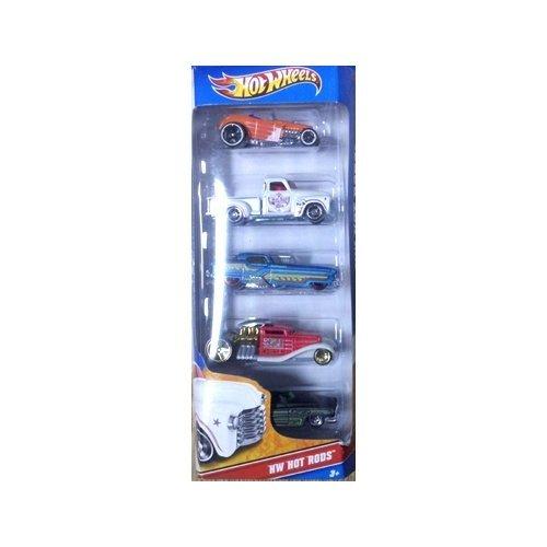 (Hot Wheels 5 Car Gift Pack - HW Hot Rods)