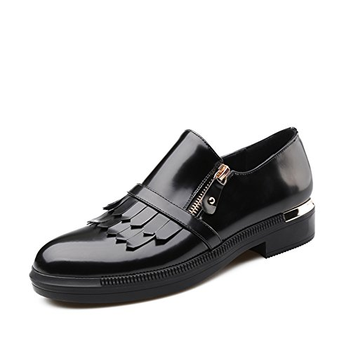 Zapatos de las señoras de primavera/Bola cabeza con mocasines tassel/Zapatos del estudiante A