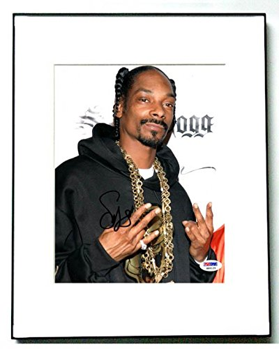 Snoop Dogg Signed Cute Hoodie & Chains Photo & Proof AFTAL - PSA/DNA (Chain Hoody)